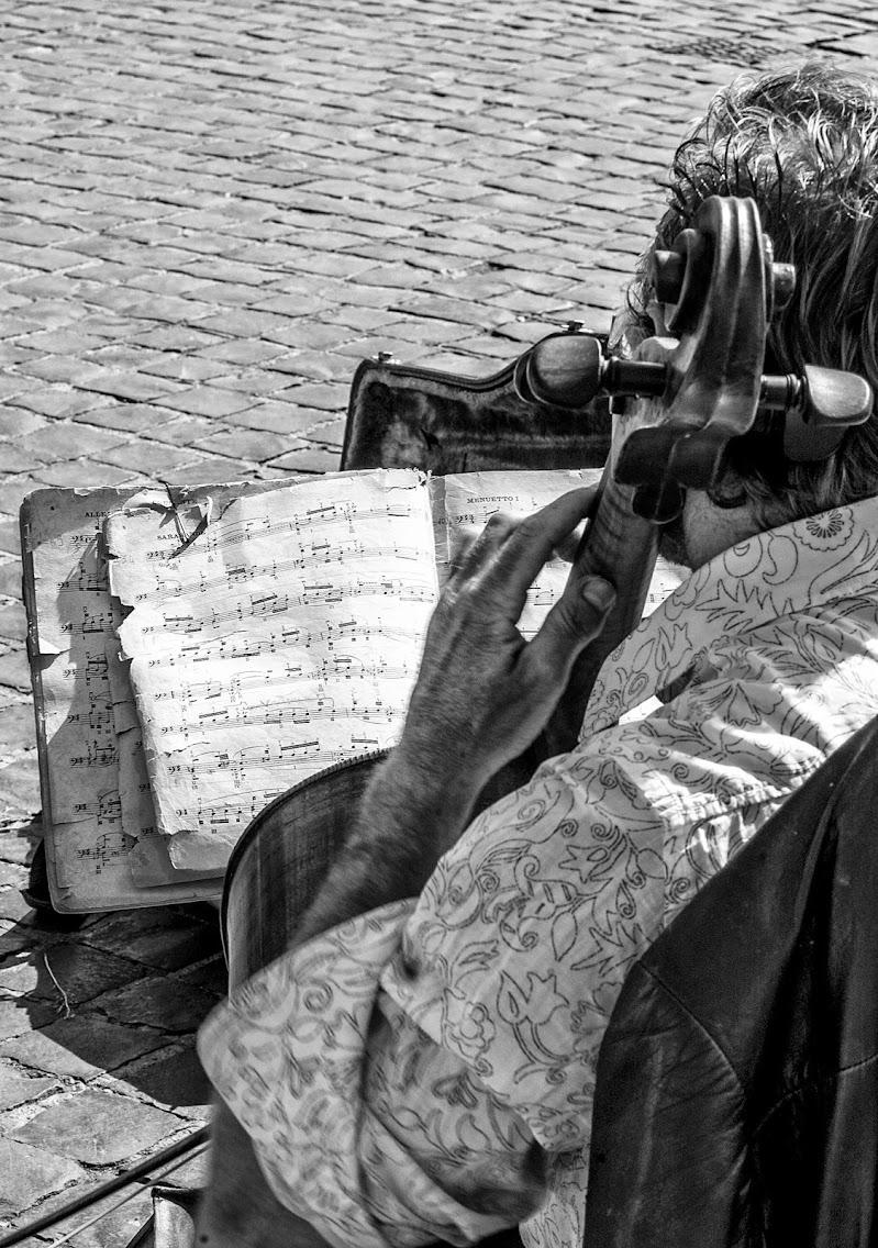 Musica in strada di Aldo Rizzardi