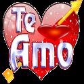 Stickers romanticos y frases de amor para WhatsApp icon