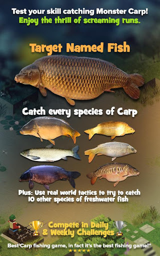 Carpcraft: Carp Fishing 1.1.44 Cheat screenshots 1
