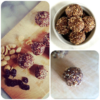 Quick, Easy, PB & J Snack Balls