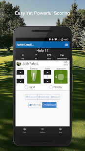 Golf GPS & Scorecard- screenshot thumbnail