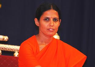 Photo: Swamini Satpriyanand Saraswatiji