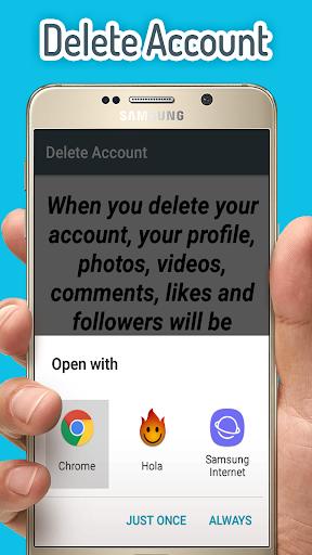 Delete Account Apk apps 4