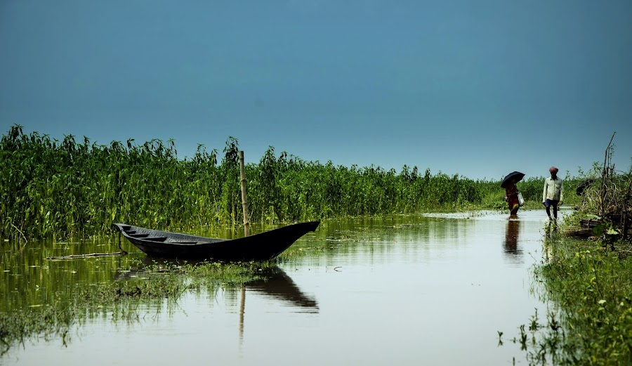 You ... Me ... And our entire life ...  by Santanu Goswami - Landscapes Travel ( travel, boat, landscapes, landscape, river )