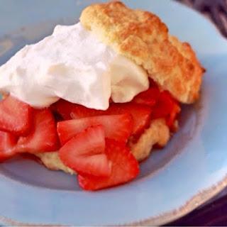 Honey Balsamic Strawberry Shortcake Recipe