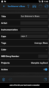 BandHelper: Set Lists and More - náhled