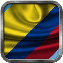 Colombian Flag Live Wallpaper icon