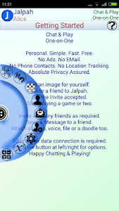 Jalpah: Chat & Play in privacy screenshot 0