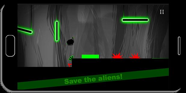 Aliens in Danger - náhled