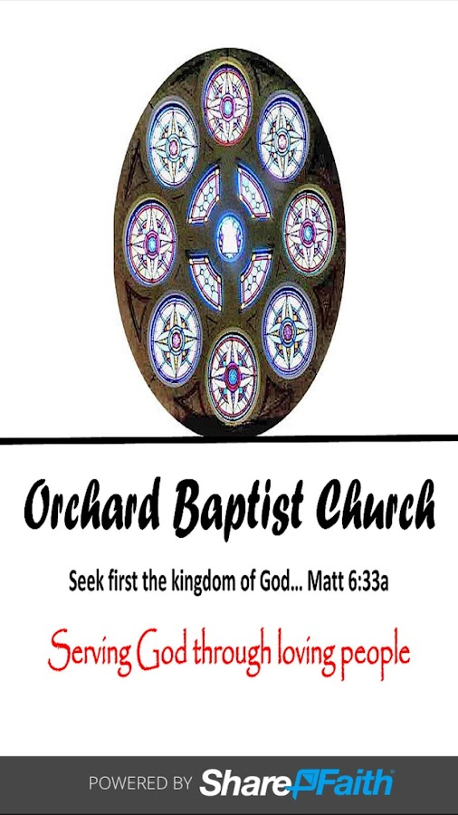 Orchard Baptist Church Mobile- screenshot