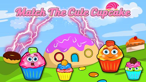 おいしいカップケーキのマッチ