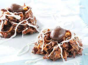 Mocha Macaroon Cookies