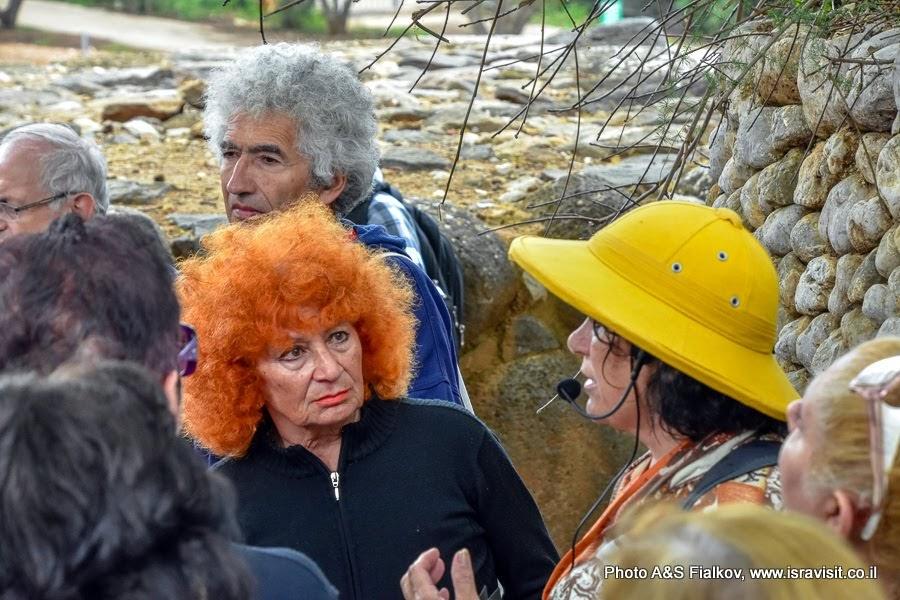 Экскурсия в Израиле с гидом Светланой Фиалковой.