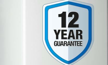 new boiler 12 year guarantee