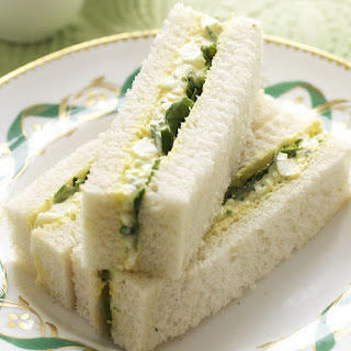 Egg Salad and Watercress Sandwiches
