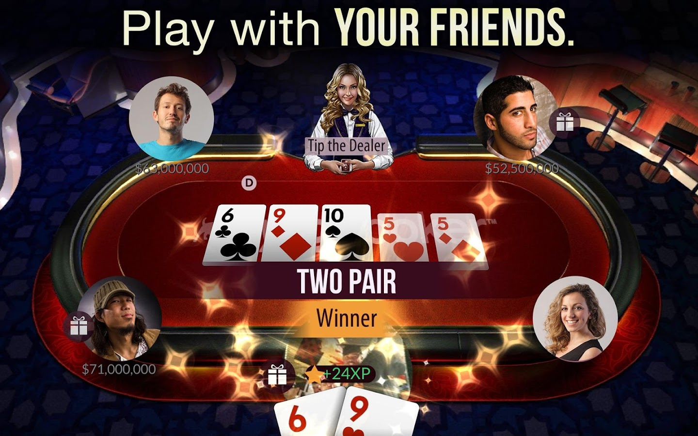 zynga poker play store