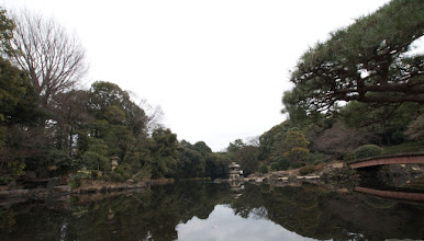 Photo: Shinjuku gardens. Tranquil and peaceful in the middle of the metropolis.