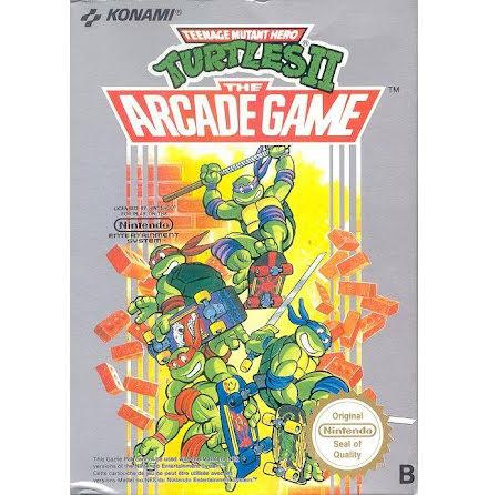 Teenage Mutant Hero Turtles II  The arcade game