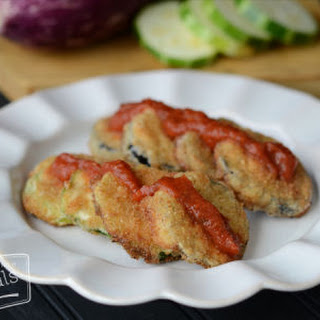Eggplant and Zucchini Chips
