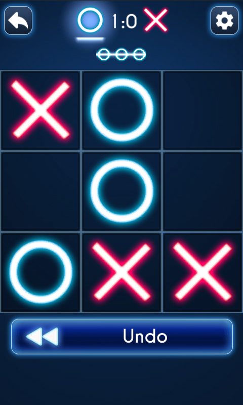 Tic Tac Toe Glow- screenshot
