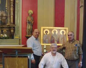Photo: RESTAURACIÓN DE OBRAS DE ARTE  http://restauradordearte.blogspot.com/ Capilla del Palau Arquebisbal de Tarragona. Joan Estavanell ,Emil Grigoras, Isidro Baldrich Prunera.