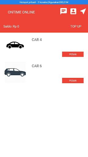 ONTIME ( Transportasi Online) screenshot 3