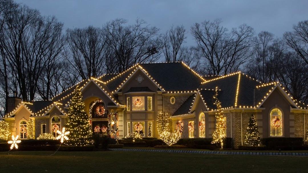 Outdoor Christmas Light Hanging Lights Designer