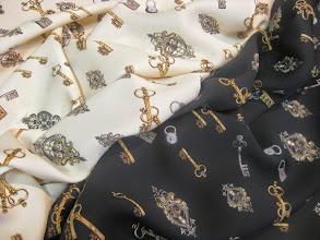 Photo: Ткань: Шармюз стрейч натуральный шелк ш.140см.цена 4000 руб.