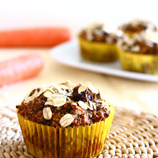 Carrot Raisin Walnut Bran Muffins