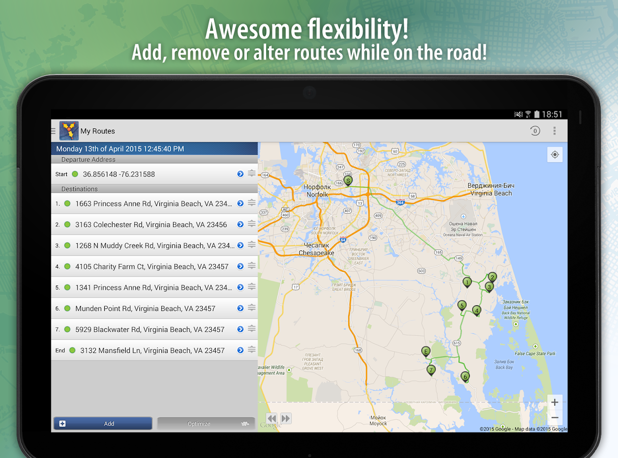 RouteMe Route Planner Android Apps On Google Play - Usa maps route planner