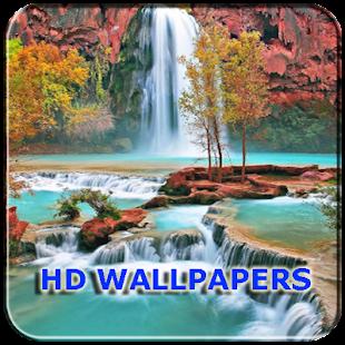 Wallpaper Air Terjun Kualitas HD - náhled