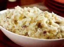 Rustic Garlic Mashed Potatoes