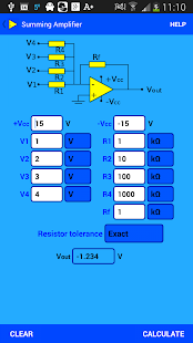 Opamp Calculator- screenshot thumbnail