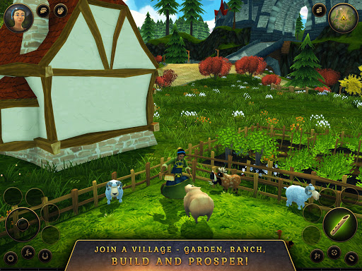3D MMO Villagers & Heroes 4.40.4 (r53268) screenshots 21