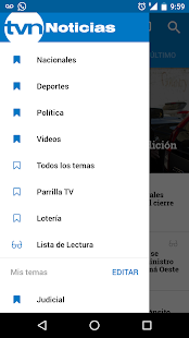 TVN Noticias para Android- screenshot thumbnail