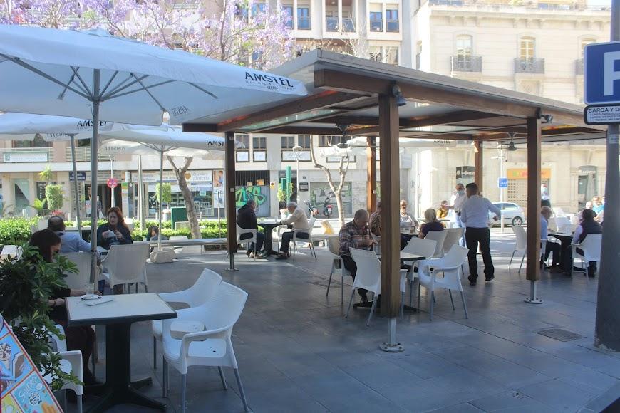 Apertura de las terrazas de cafetería y bares.