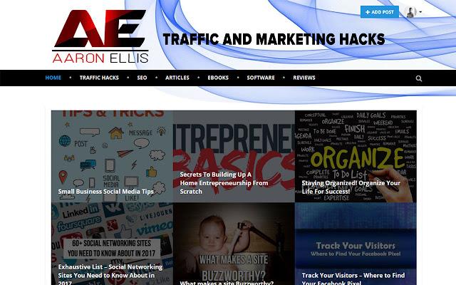Aaron Ellis Traffic and Marketing Hacks