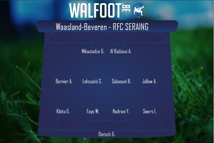 RFC Seraing (Waasland-Beveren - RFC Seraing)