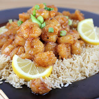 Chinese Lemon Pepper Shrimp.