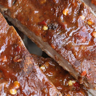 Slow Cooked Ribs.