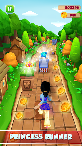 Princess Running Games screenshot 1