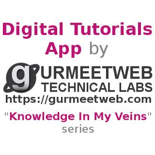 Digital Tutorials App