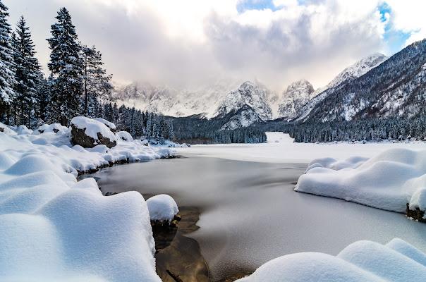 Lago Superiore di Fusine di FabioClock