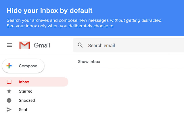Inbox When Ready لـ Gmail