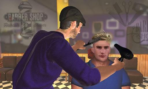 Barber Shop Hair Salon Cut Hair Cutting Games 3D 1.4.1 screenshots 3