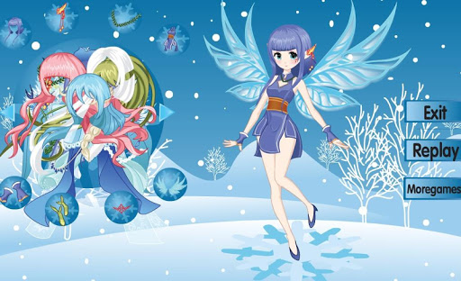 Beautiful winter snow fairy android2mod screenshots 6