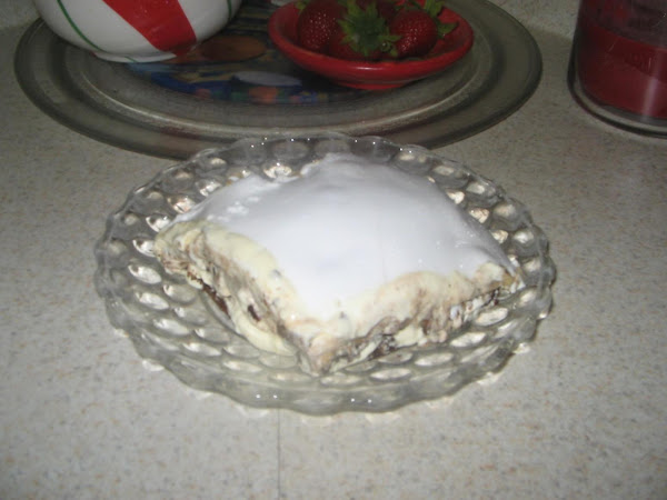 Chocolate Banana Cream Cheese Icebox Cake Recipe