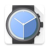 Material Clock Watch Face