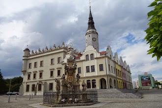 Photo: radnice v Glubczyce