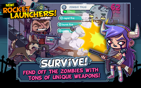 ZOMBIES ATE MY FRIENDS Screenshot